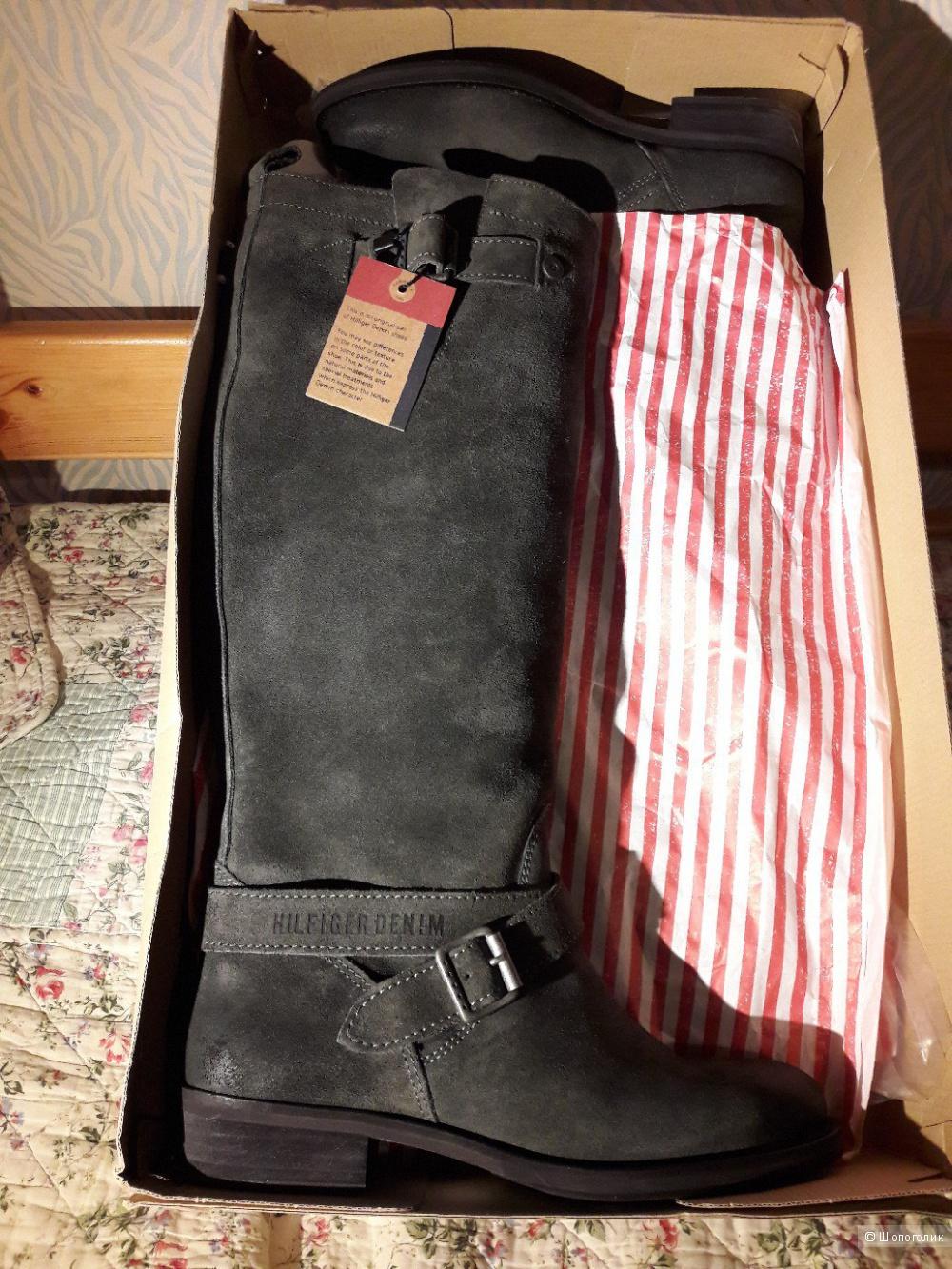 Сапоги tommy hilfiger, 38 размер