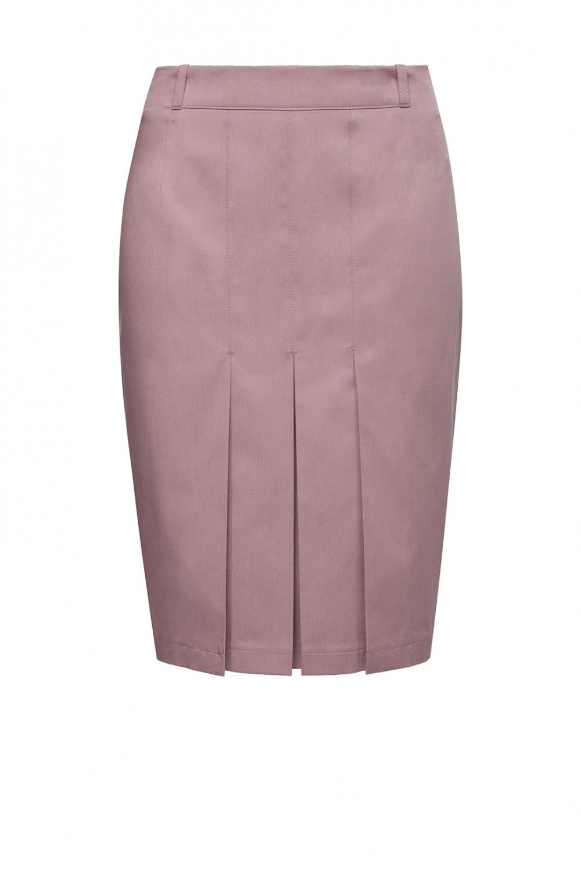 Классная летняя юбка Charuel цвет капучино размер 50