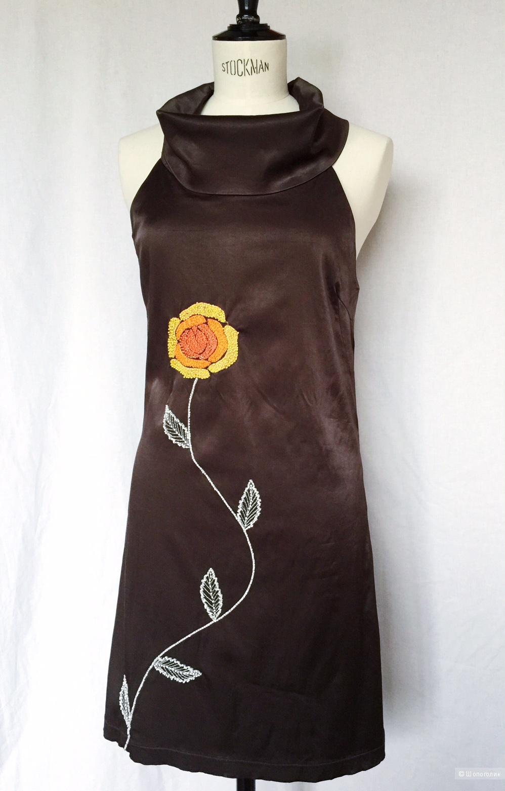 Дизайнерское платье  марки  by LV размер 44-46