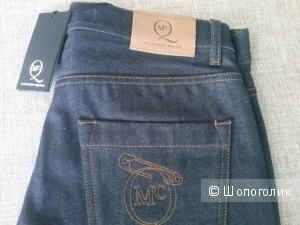 Джинсы McQ Raw Denim Classic Skinny
