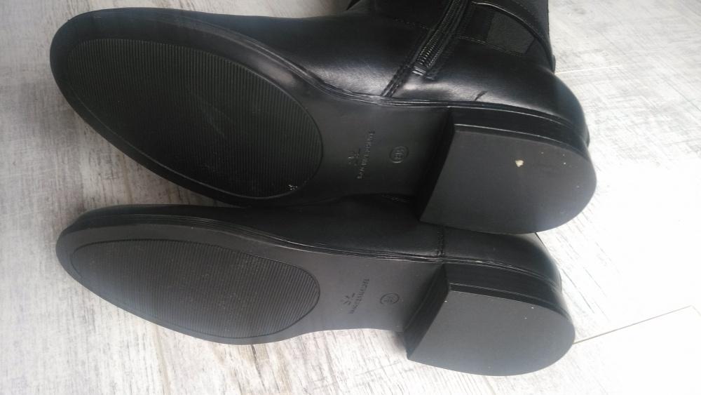 Новые кожаные сапоги Isaac Mizrahi, размер 38