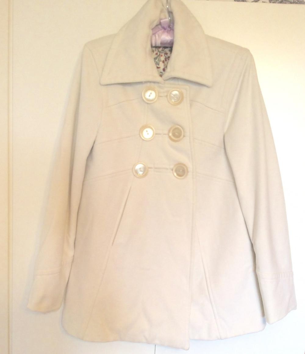 Пальто-трапеция бу размер 42-44