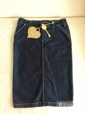 Стильная юбка-карандаш, стрейч M.S..N., размер  XS, S