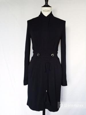 Черное платье немецкого бренда ALLUDE! размер s