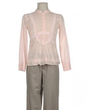 Батистовая блузка для девочки ф.R95 th (10 лет)