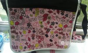 Школьная яркая стильная сумка из Испании для девочки