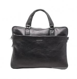 Кожаная сумка итальянского бренда Domani