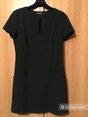 Платье черное, размер 44-46