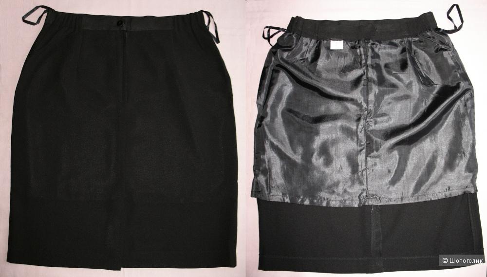 Костюм летний жакет + юбка, 48 российский размер