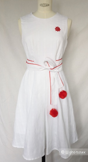 Платье на лето от дизайнерской марки ACTINIA размер 44-46