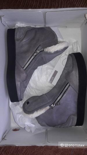 Осенние сникерсы Adidas SLVR размер US7 UK5.5