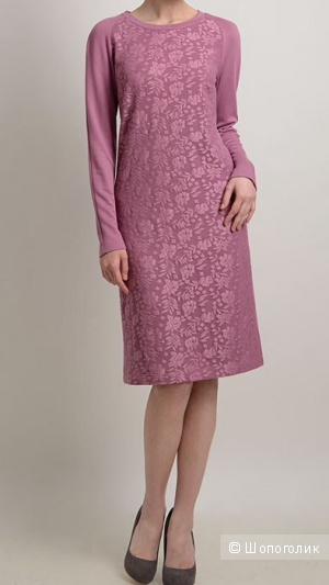 Платье из вискозы, Linorusso, XS (подойдёт на размер 42)