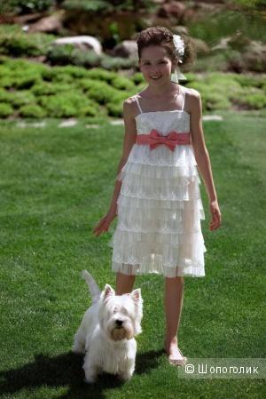 Нарядное платье для девочки ф.Papilio размер 146