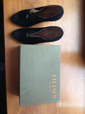 Замшевые туфли ELELSEN, 38 размера
