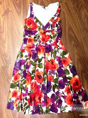 Ralph Lauren красивое брендовое летнее платье р.44 .Оригинал