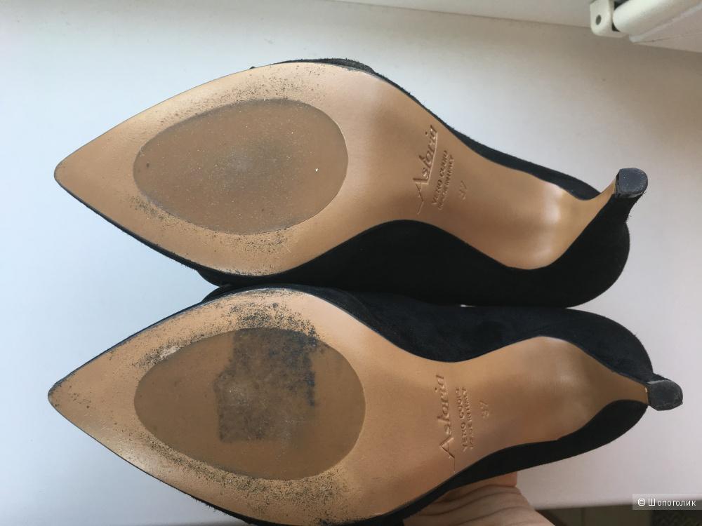 Туфли Astoria замша размер 37 европейский