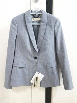 Пиджак Burberry (шерсть и шелк), размер 44-46 (42 it)
