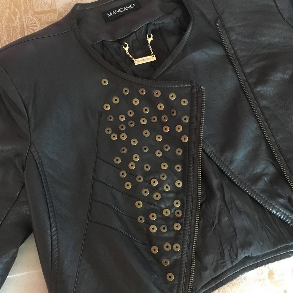 Куртка-косуха Mangano, Италия, размер 40 (XS), б\у