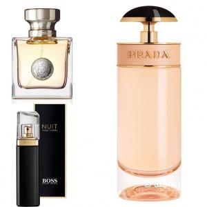 Ароматы женские Boss, Versace, Prada 30 мл