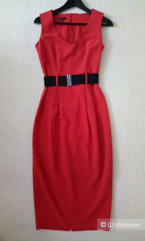 Платье терракотовое, р-р 42-44