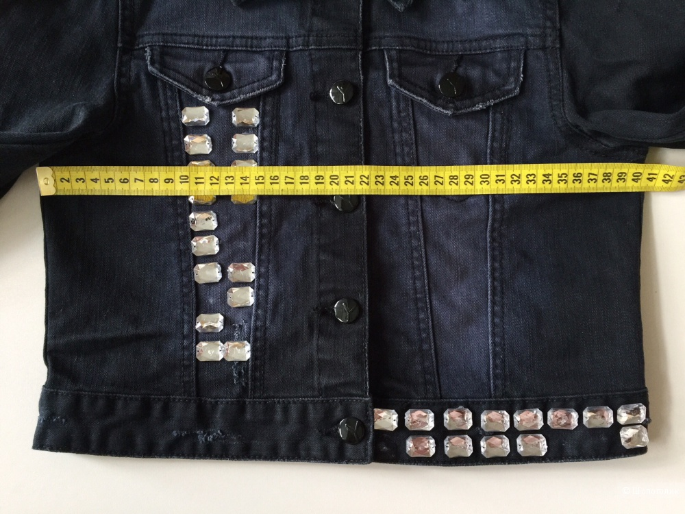 СУПЕР стильная Джинсовая  от H&MYoung размер 152 европа