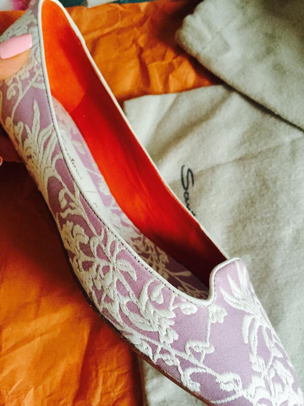 Мокасины Santoni/Rubelli, 37,5 размер, новые