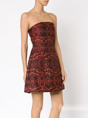 Роскошное коктейльное платье Alice+Olivia / XS