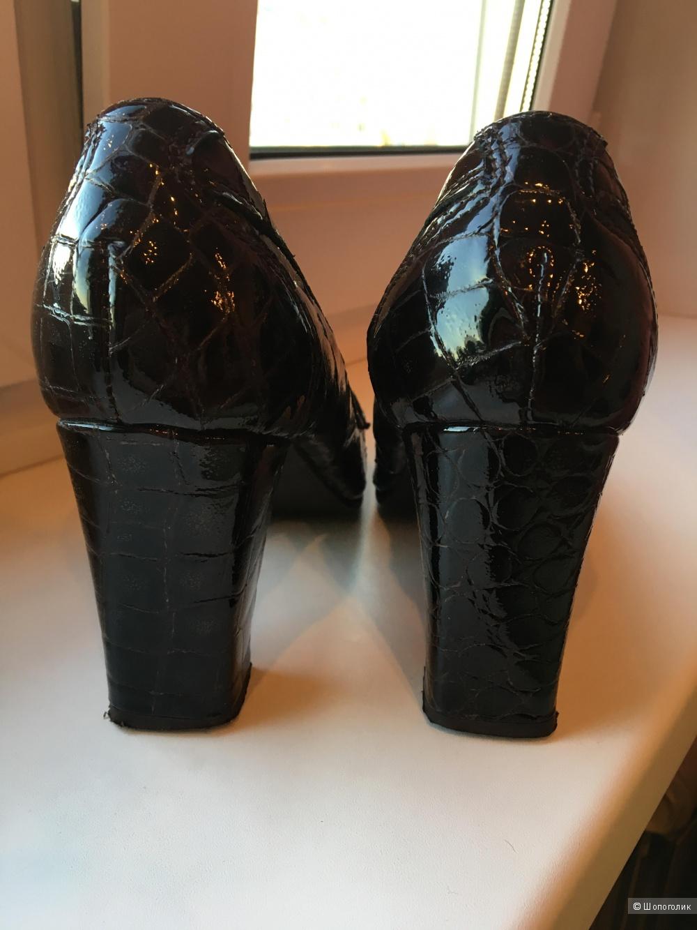 Туфли кожаные, размер 36
