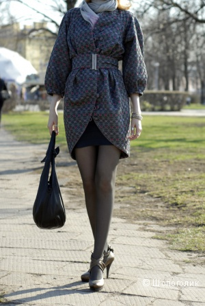 Летнее (подойдет и как вечернее) дизайнерское  пальто на подкладке от Ekaterina Smolina, 42-46