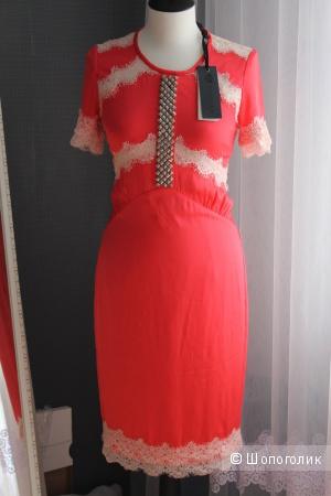 Новое шёлковое платье Bastyan р-р 36 (42)