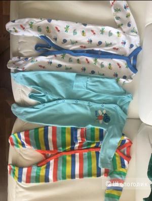 Комплект комбинезонов Mothercare 62-68