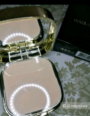 Пудра компактная Dolce& Gabbana