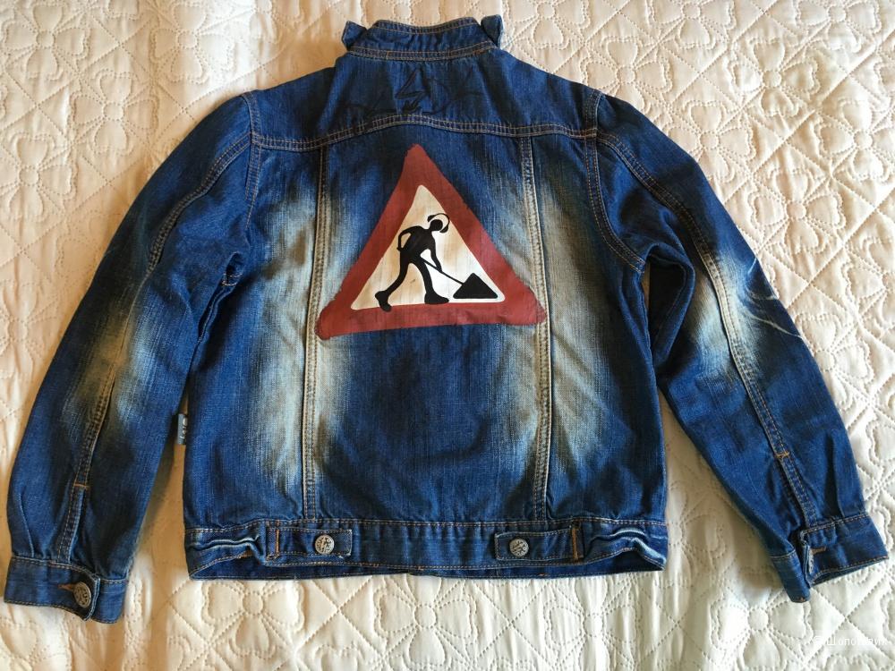 Джинсовая курточка, для мальчика, Orby, размер 128-134, новая