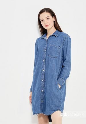 Джиносовое платье-рубашку GAP,раз.XL.
