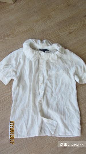 Шёлковая блуза French Connection  размер UK10 (рус.44-46)