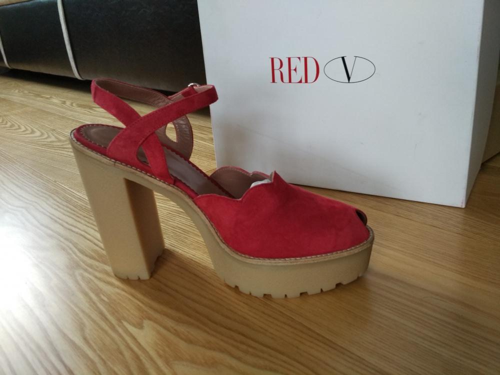Итальянские сандалии    RED(V) 40 (Европейский размер)