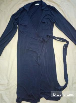 Платье с запАхом ,steilmann,   размер 44-46.