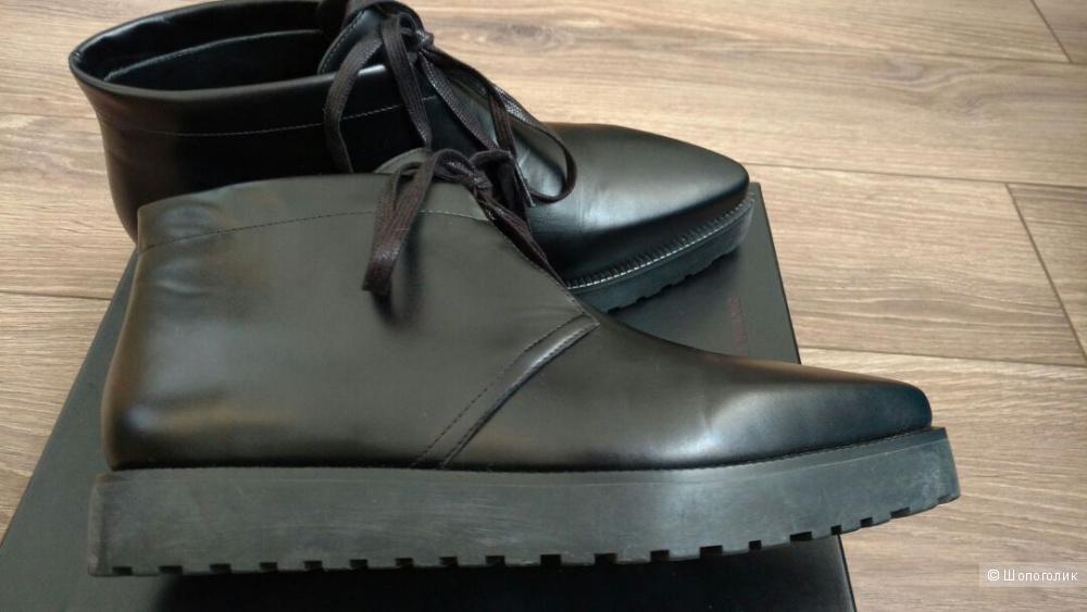 Новые кожаные ботинки ALEXANDER WANG 40IT