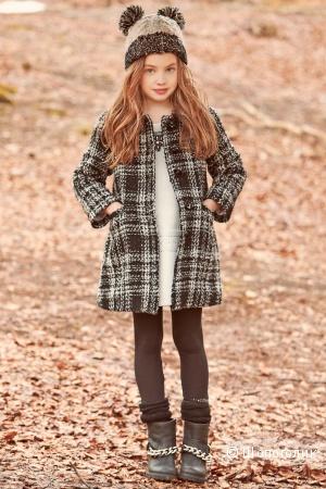Осеннее пальто Sarabanda, 128 см