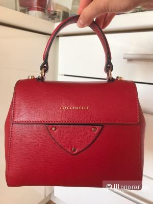 Новая сумка COCCINELLE кожа сафьян