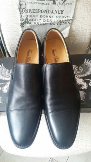 Мужские кожаные туфли franco bellucci р.48-49