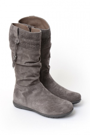 Зимние сапоги Romagnoli, замшевые, размер 38