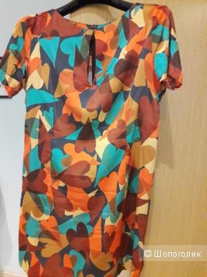 Платье шелковое Mariangela Mazzoli 46 итальянского размера