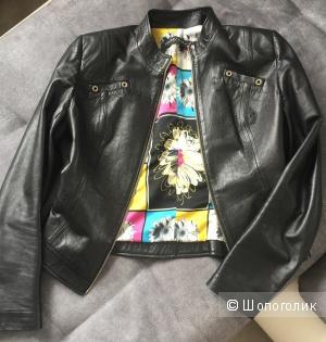 Кожанная куртка российского бренда CHARISMA, 42 размер