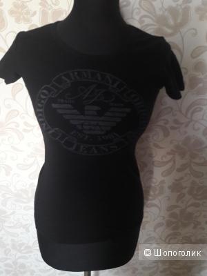 Armani Jeans: майка-футболка, 40