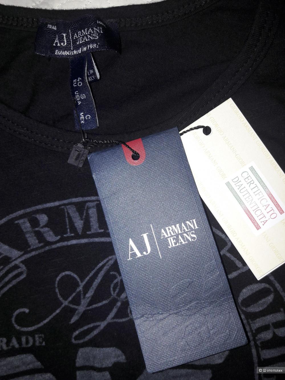 4aad107f62a1 Armani Jeans: майка-футболка, 40, в магазине Другой магазин — на ...