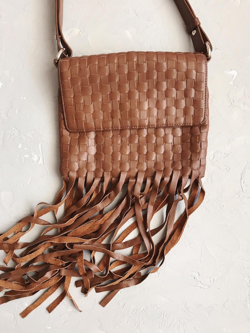 Сумка crossbody bag DKNY из натуральной кожи