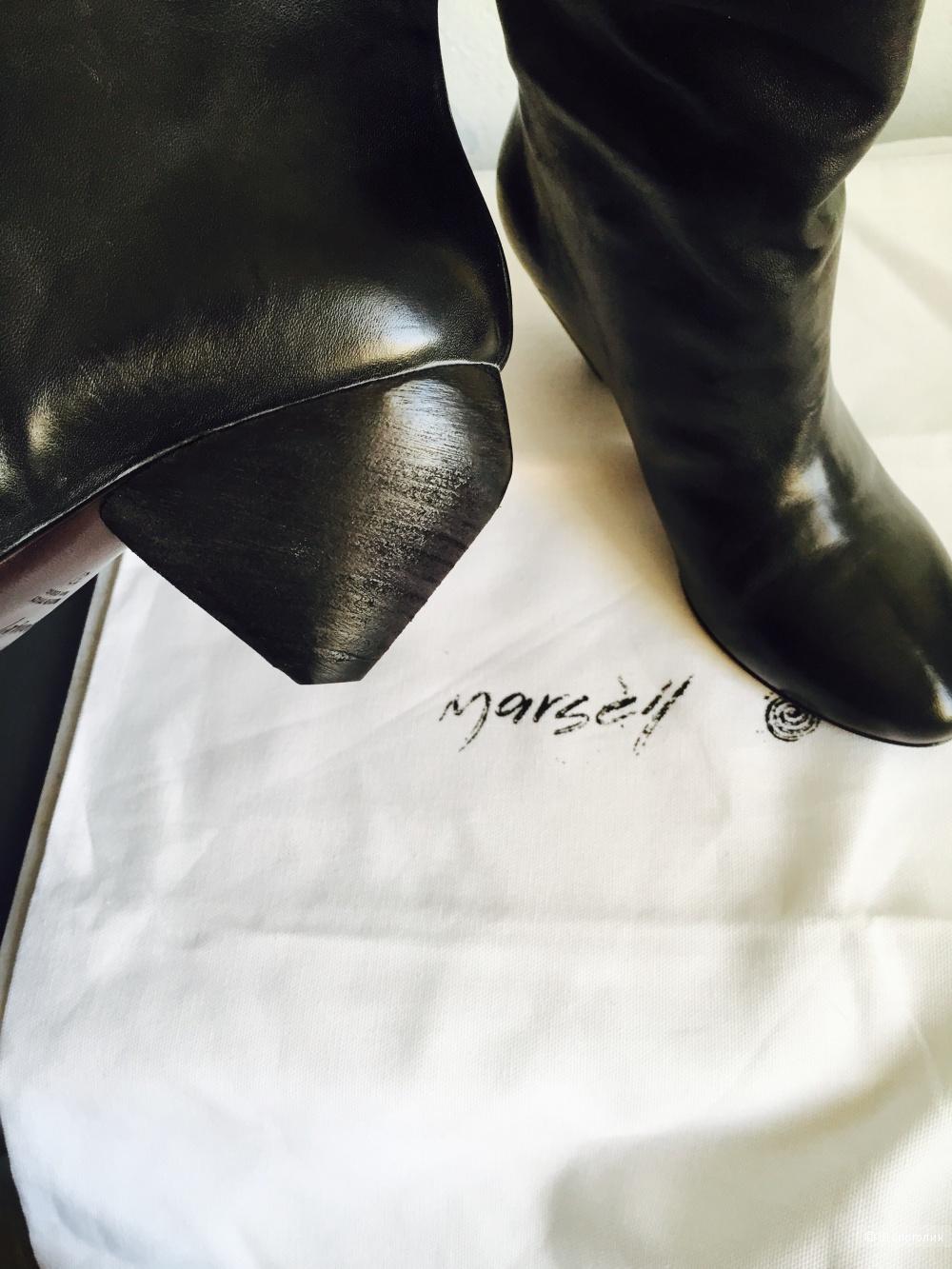 Marsell кожаные сапоги 37 размер