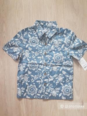 Рубашка Carter's на мальчика 4 лет