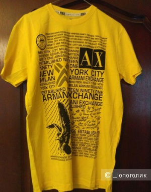 Новая футболка мужская Armani exchange, размер L